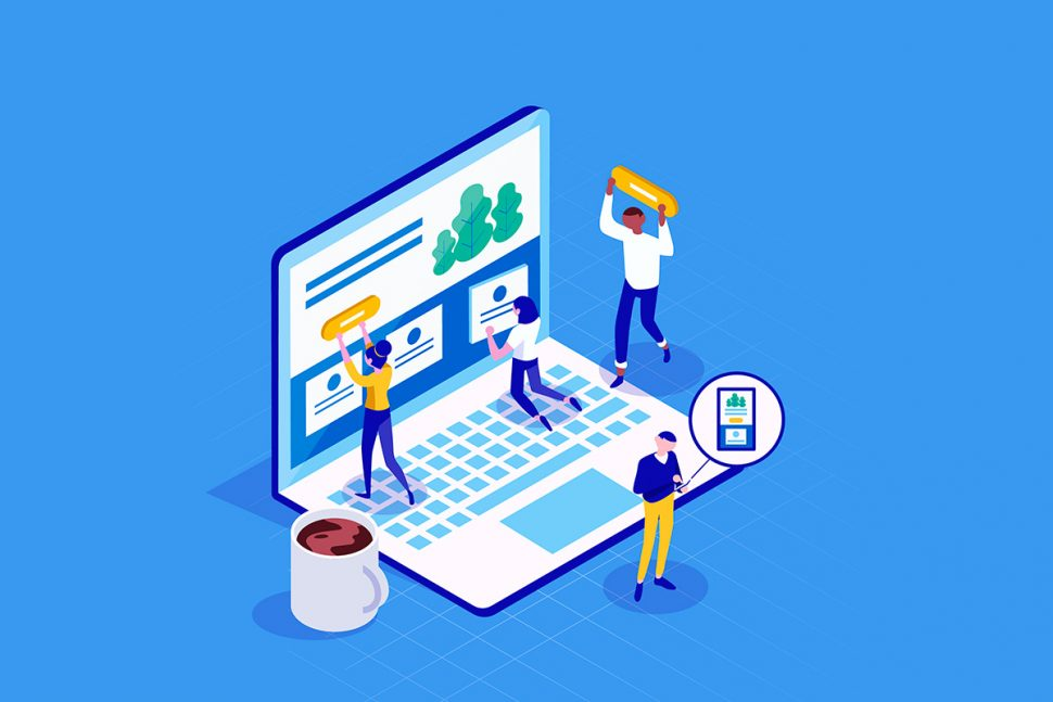 Explorando as tendências de design de pequenos sites de negócios