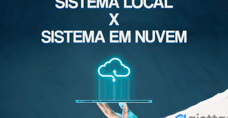 Sistema Local x Sistema na Nuvem