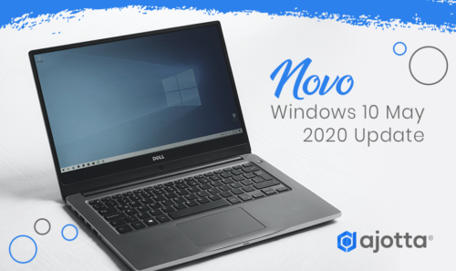 Novo Windows 10 may 2020 update