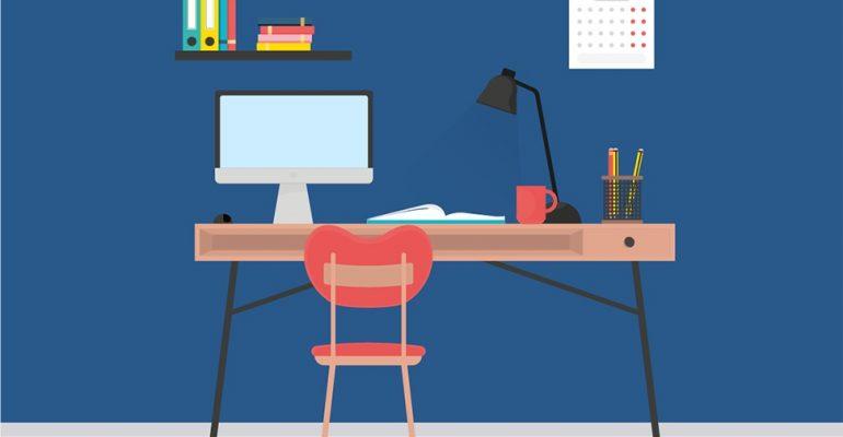 Como organizar a sua mesa do escritório em 10 passos